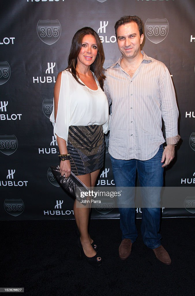 Guests attend the Hublot Introduces The King Power '305' Timepiece at W South Beach Hotel & Residences on September 26, 2012 in Miami Beach, Florida.