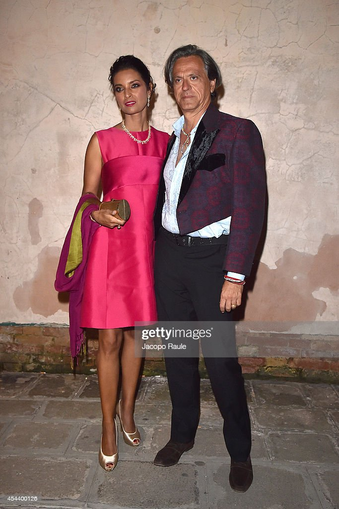 Guests attend 'The Humbling' premiere after party during the 71st Annual Venice Film Festival on August 30, 2014 in Venice, Italy.
