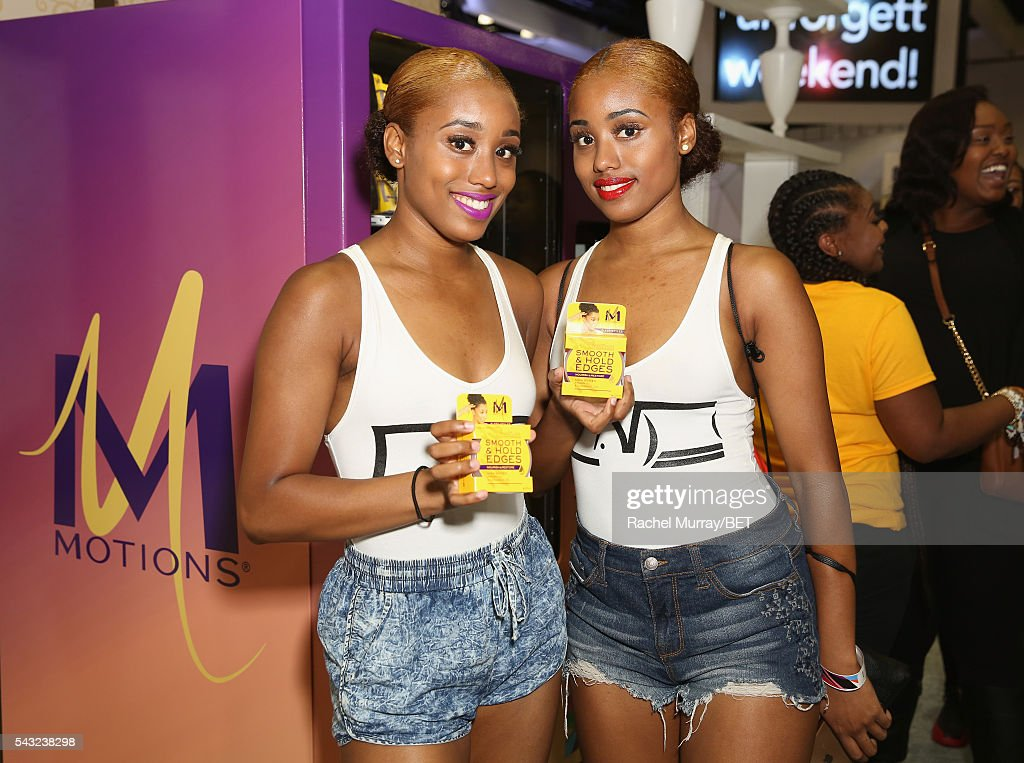 Guests attend the #It'sYourMove hair showcase powered by Motions during the 2016 BET Experience on June 26, 2016 in Los Angeles, California.