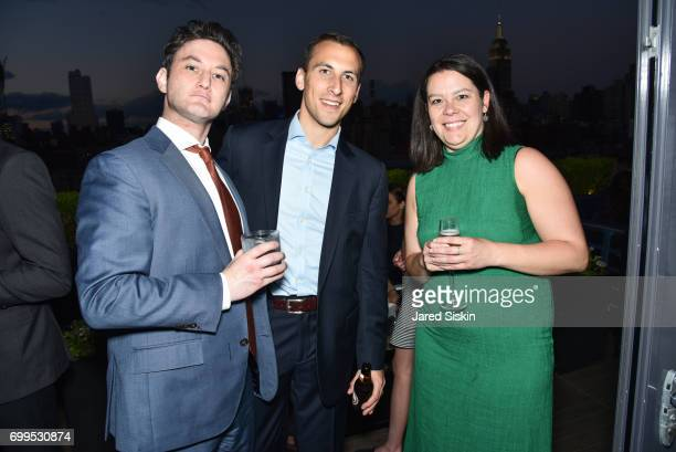Guests attend The Junior Board of The TEAK Fellowship Presents A Midsummer Night at PhD Lounge at the Dream Downtown New York on June 21 2017 in New...