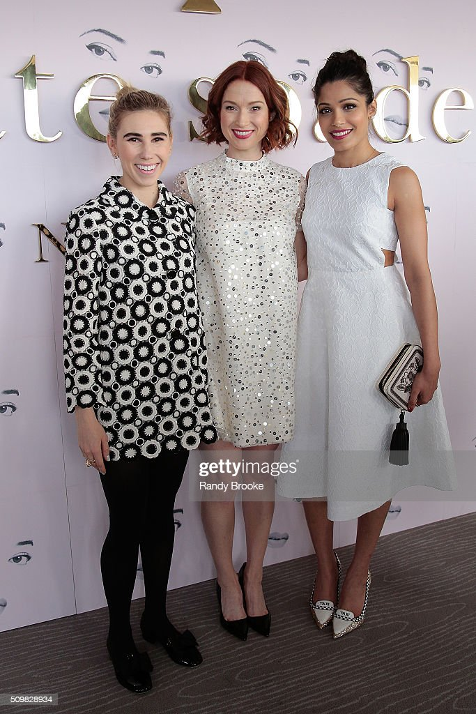 Guests attend the Kate Spade New York Presentation of Fall 2016 during New York Fashion Week at The Rainbow Room on February 12, 2016 in New York City.