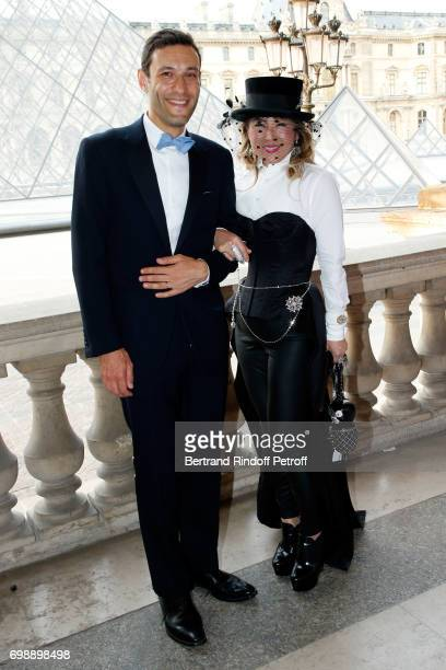 Guests attend the 'Liaisons au Louvre IV' Evening of patronage for the benefit of the Louvre Museum at Musee du Louvre on June 20 2017 in Paris France