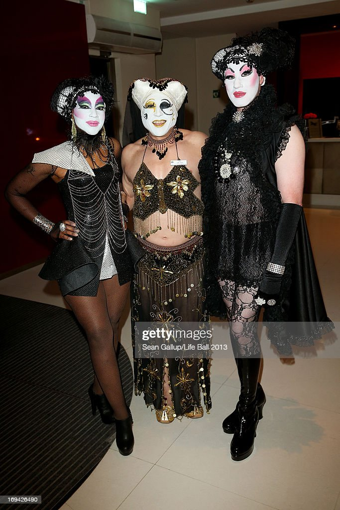 Guests attend the 'Life Ball 2013 - Welcome Cocktail' at Le Meridien Hotel on May 24, 2013 in Vienna, Austria.