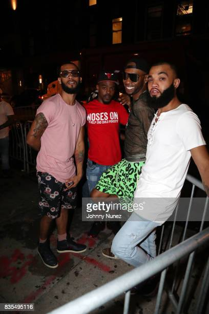 Guests attend the Lil Kim concert at Stage 48 on August 18 2017 in New York City