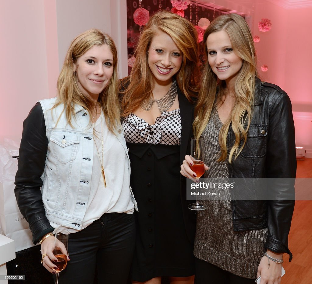 Guests attend the Los Angeles Grand Opening of Georgetown Cupcake Los Angeles on November 15, 2012 in Los Angeles, California.