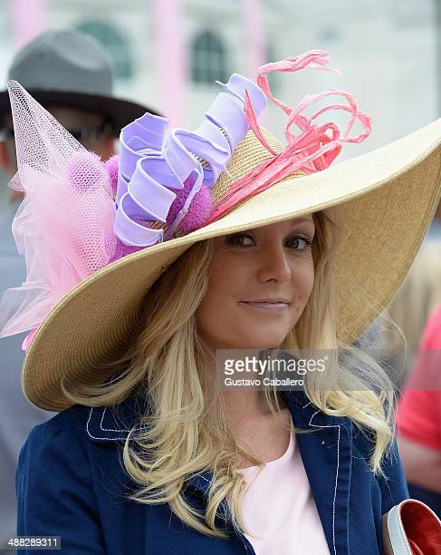 Guests attend the Moet Chandon Toasts The 140th Kentucky Derby at Churchill Downs on May 2 2014 in Louisville Kentucky