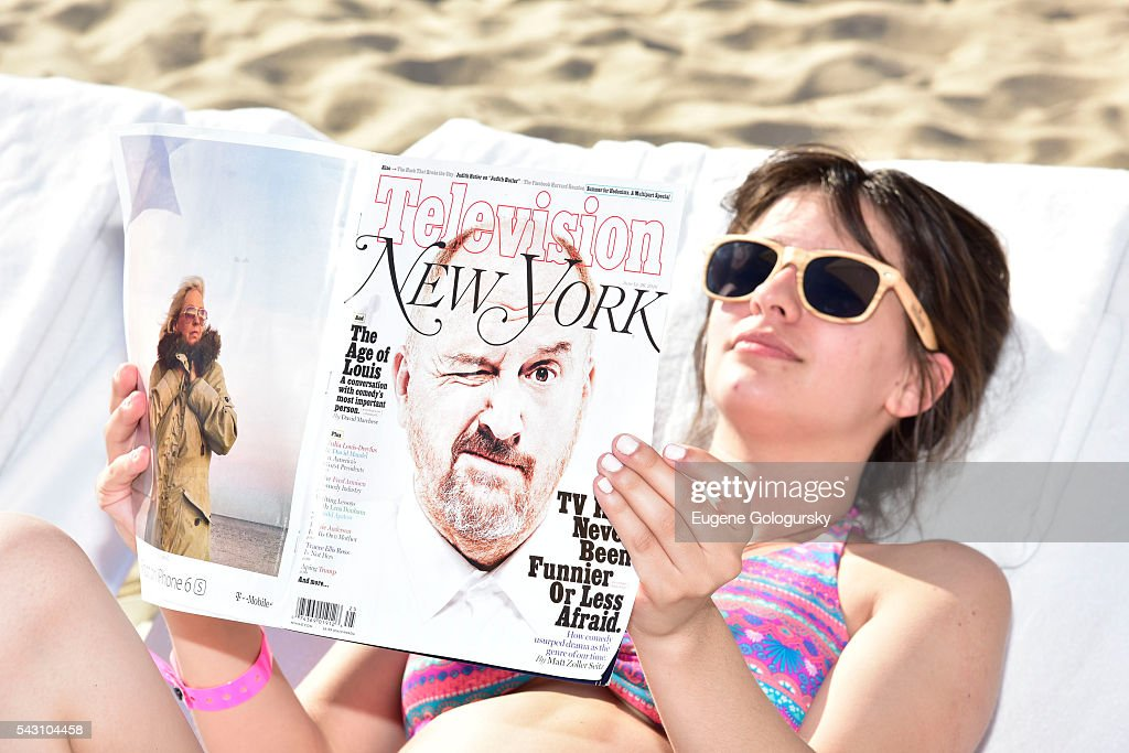 Guests attend the NYMag + San Pellegrino Beach Party at Gurney's Montauk Resort and Seawater Spa on June 25, 2016 in Montauk, New York.