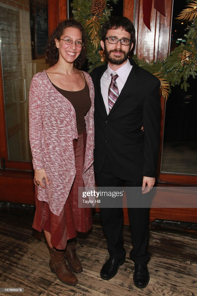 Guests attend the opening night after-party for 'A Civil War Christmas' at Phebe's on December 4, 2012 in New York City.