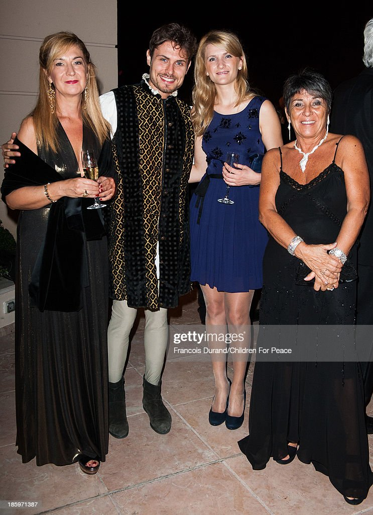 Guests attend the 'Opera Romeo and Juliette' : Gala to the benefit of the The Children for Peace association, on October 26, 2013 in Monte-Carlo, Monaco.