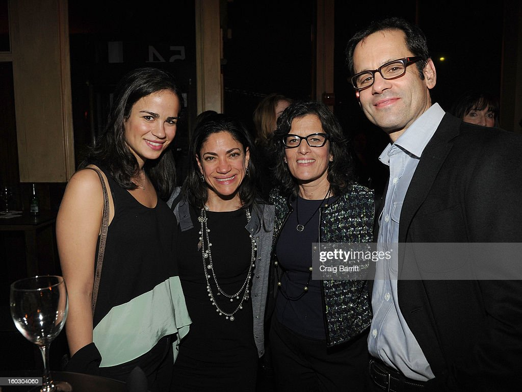 Guests attend the premiere of 'Betty & Coretta' to celebrate with Lifetime and cast at Tribeca Cinemas on January 28, 2013 in New York City.