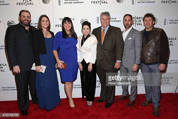 Guests attend the premiere of 'Maggie' during the 2015 Tribeca Film Festival at BMCC Tribeca PAC on April 22 2015 in New York City