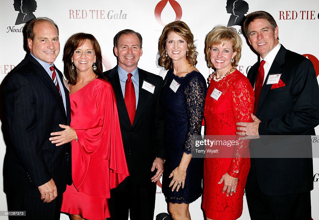 Guests attend the Red Tie Gala Hosted by Blood:Water Mission and sponsored by Noodle & Boo at Hutton Hotel on November 21, 2013 in Nashville, Tennessee.