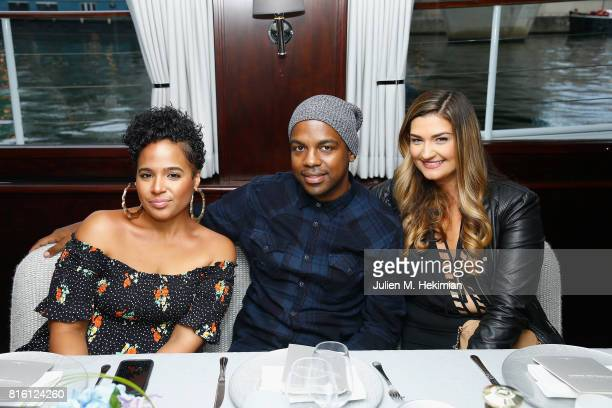 Guests attend the Remy Martin XO Dinner with Jackie Cruz on July 15 2017 in Paris France