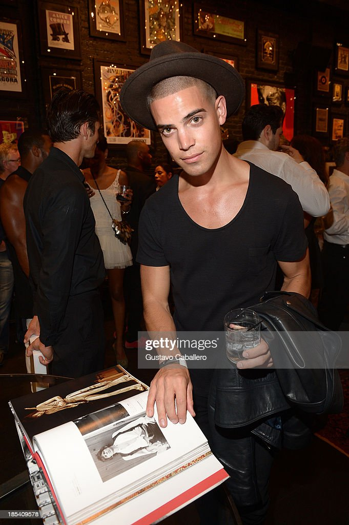 Guests attend the Rock in Fashion Book Launch at John Varvatos South Beach Miami on October 19, 2013 in Miami, Florida.