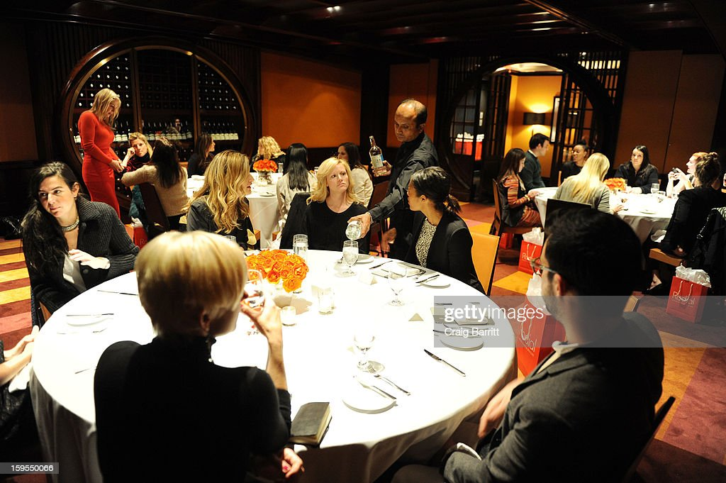 Guests attend the Rodial 10 Year Anniversary Luncheon at The Lambs Club on January 15, 2013 in New York City.