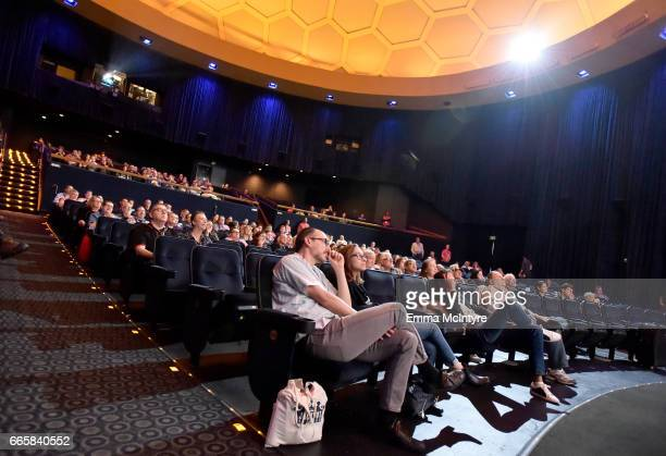 Guests attend the screening of 'It's a Mad Mad Mad Mad World' during the 2017 TCM Classic Film Festival on April 7 2017 in Los Angeles California...