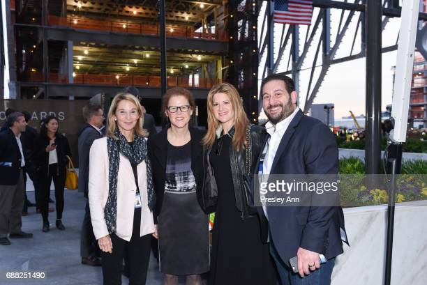 Guests attend The Shed First Reveal VIP Cocktail Party at The Shed on May 24 2017 in New York City
