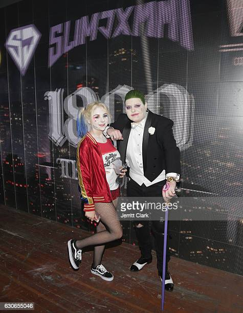Guests attend the Slim Jxmmi Of Rae Sremmurd 25th Birthday Bash at Think Tank Gallery on December 28 2016 in Los Angeles California
