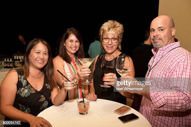 Guests attend the 'Soiree at Spago' during day two of the 2017 Maui Film Festival At Wailea on June 22 2017 in Wailea Hawaii