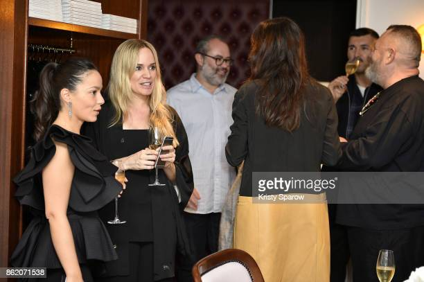 Guests attend the Surface Magazine Fall Fashion Issue 2017 Presentation on October 16 2017 in Paris France