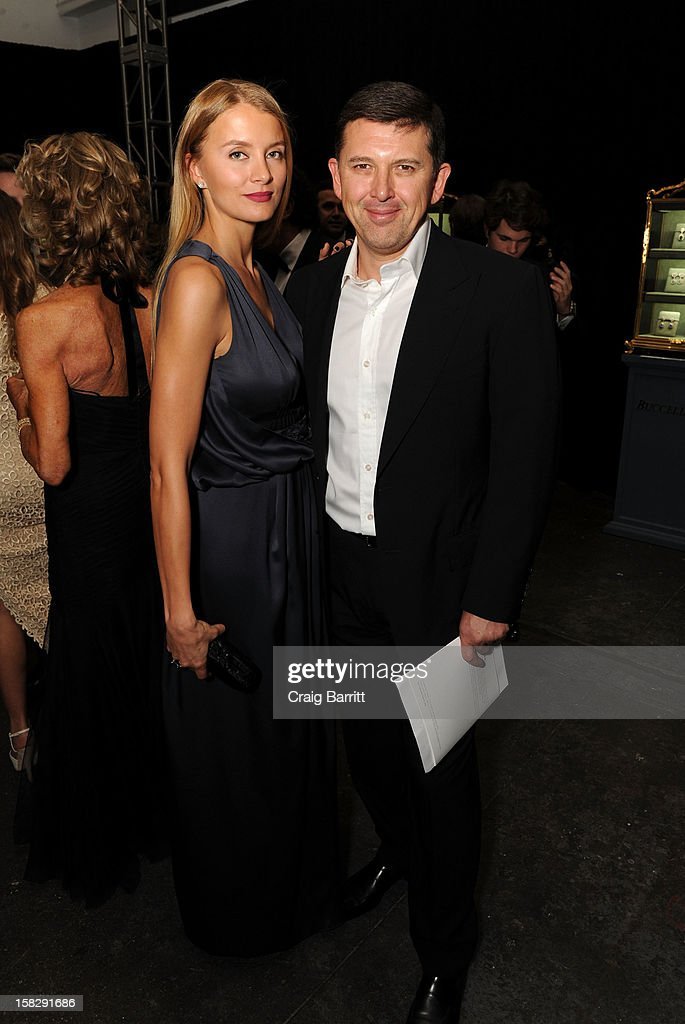 Guests attend the TPC for the 2012 La Fondazione La Notte Gala Celebrating 60 years Of Excellence In the USA For Buccellati at Industria Studios on December 12, 2012 in New York City.