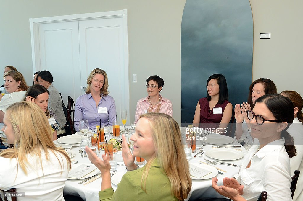 Guests attend the Woman of Animation Lunch during the 2012 Los Angeles Film Festival at Ritz Carlton on June 17, 2012 in Los Angeles, California.