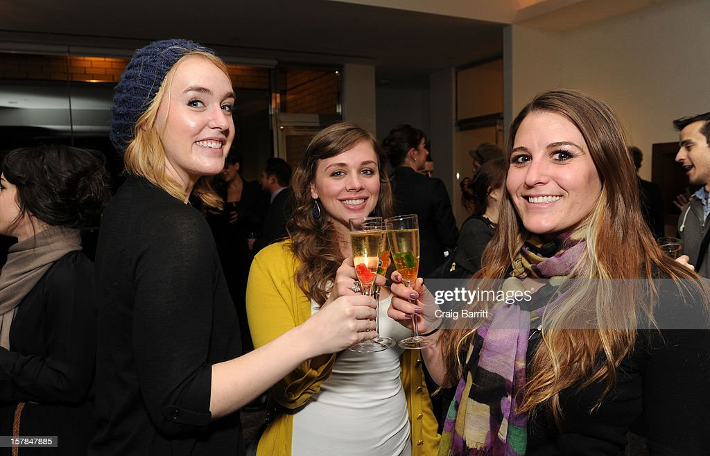 Guests attend the Worldview Entertainment 2012 Holiday Party at William Beaver House on December 6, 2012 in New York City.