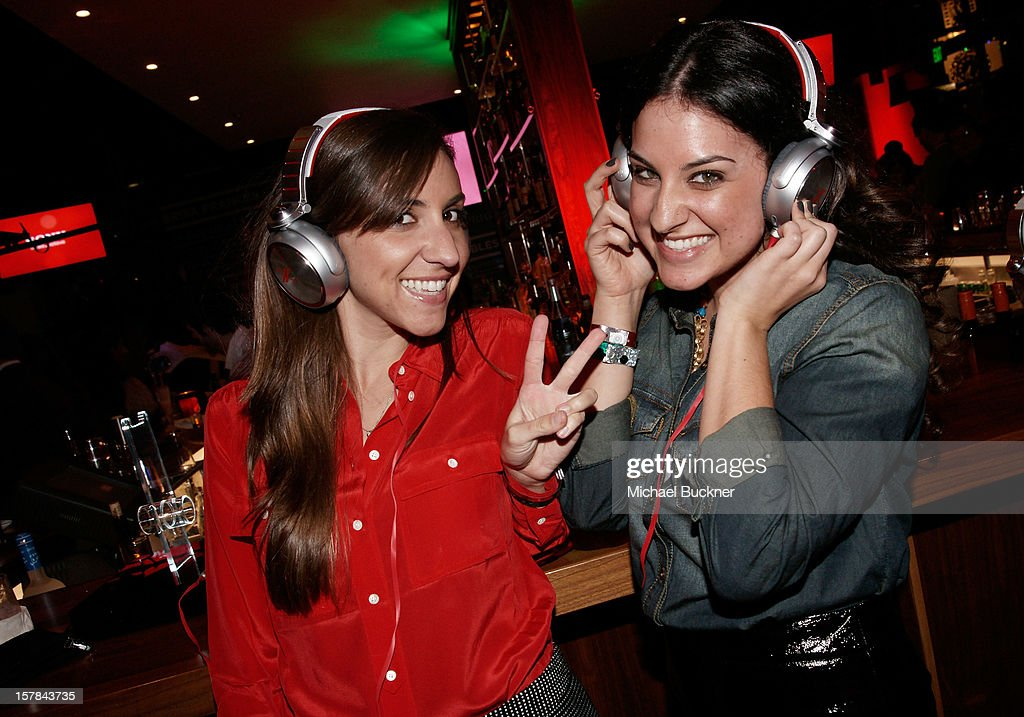 Guests attend The X Factor Viewing Party Sponsored By Sony X Headphones at Mixology101 & Planet Dailies on December 6, 2012 in Los Angeles, United States.