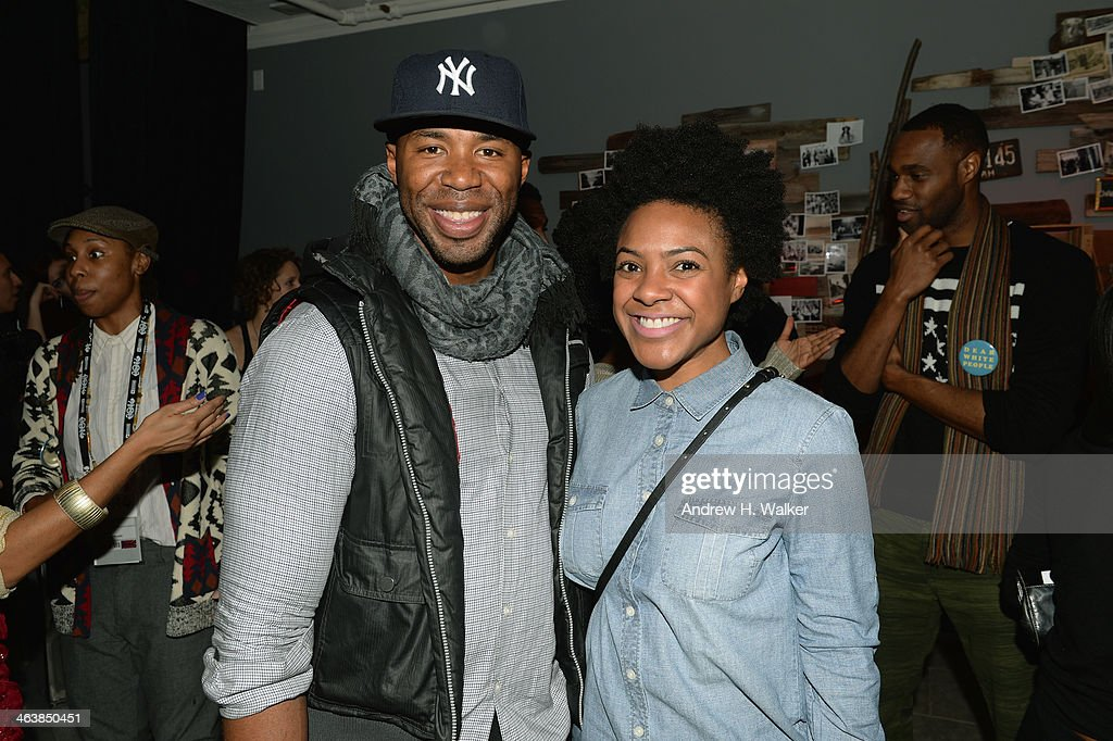 Guests attend the YouTube 'Dear White People' Reception on January 20, 2014 in Park City, Utah.