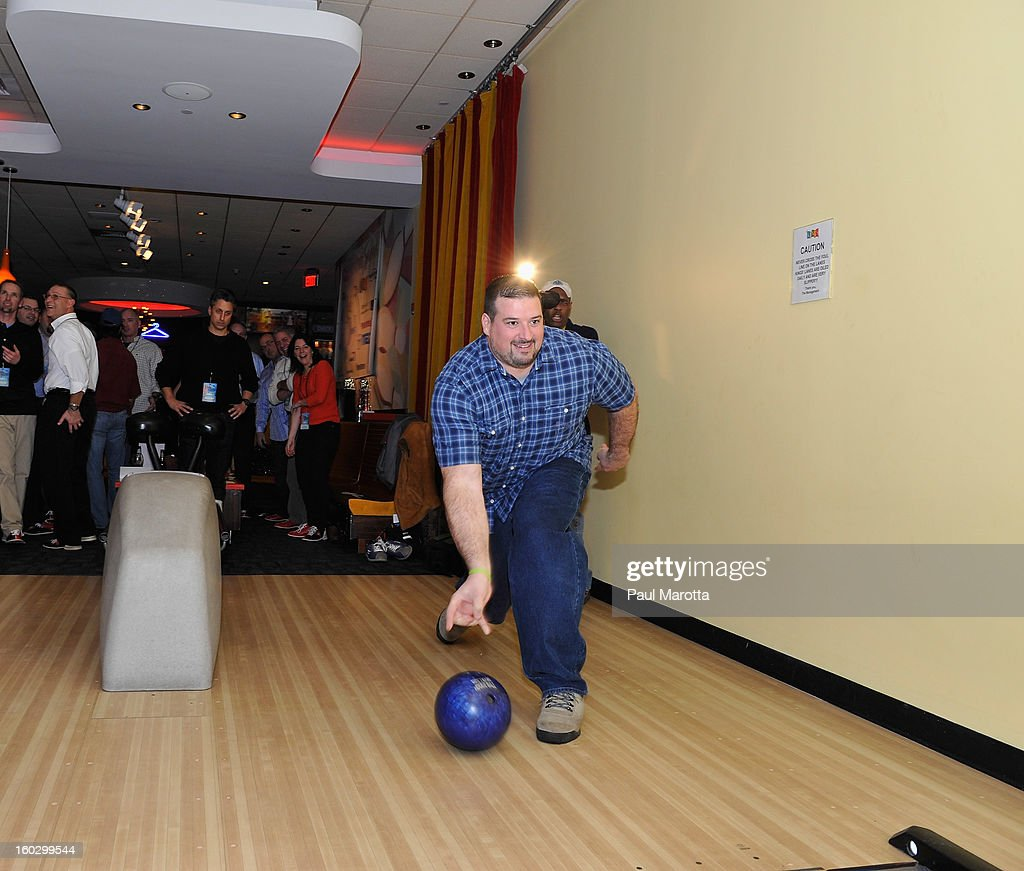 Guests attend the10th Annual Flutie Bowl to strike out autism at KINGS on January 28, 2013 in Boston, Massachusetts.