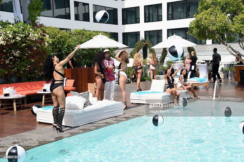 Guests attend Tidal X MEEK MILL at Mondrian Hotel on June 26 2015 in Los Angeles California
