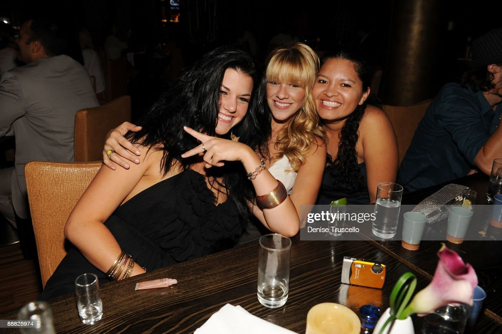 Guests attend Yellowtail restaurant at the Bellagio Hotel and Casino Resort on July 4, 2009 in Las Vegas, Nevada.