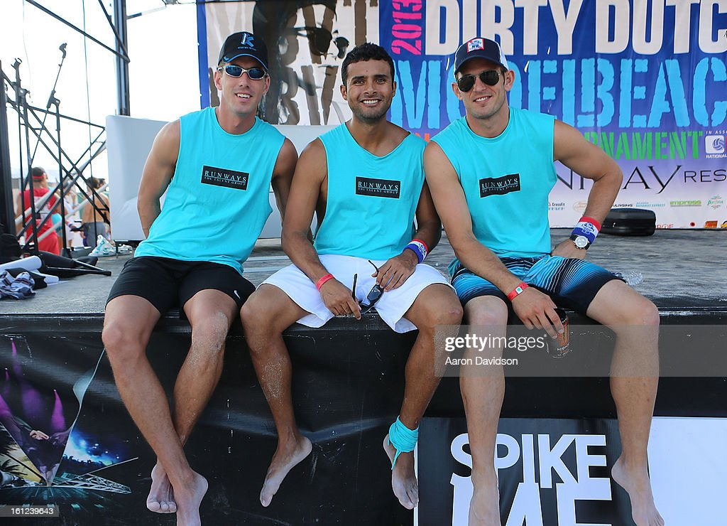 Guests attends Dirty Dutch Model Volleyball Tournament 2013 on February 9, 2013 in Miami Beach, Florida.