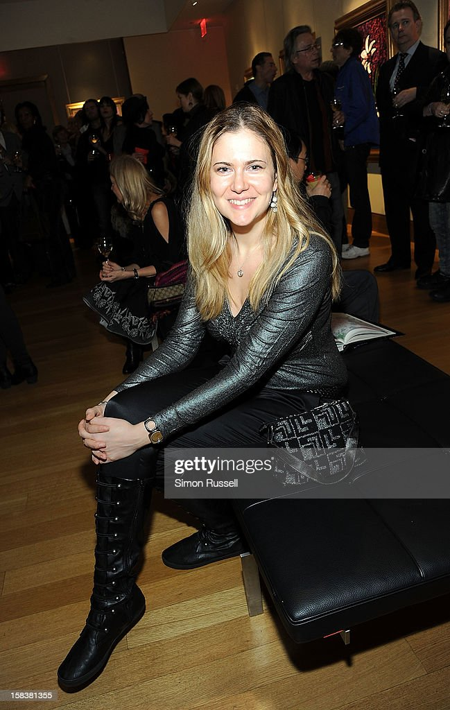 Guests attends Same Sky Holiday Benefit Reception at Ana Tzarev Gallery on December 14, 2012 in New York City.
