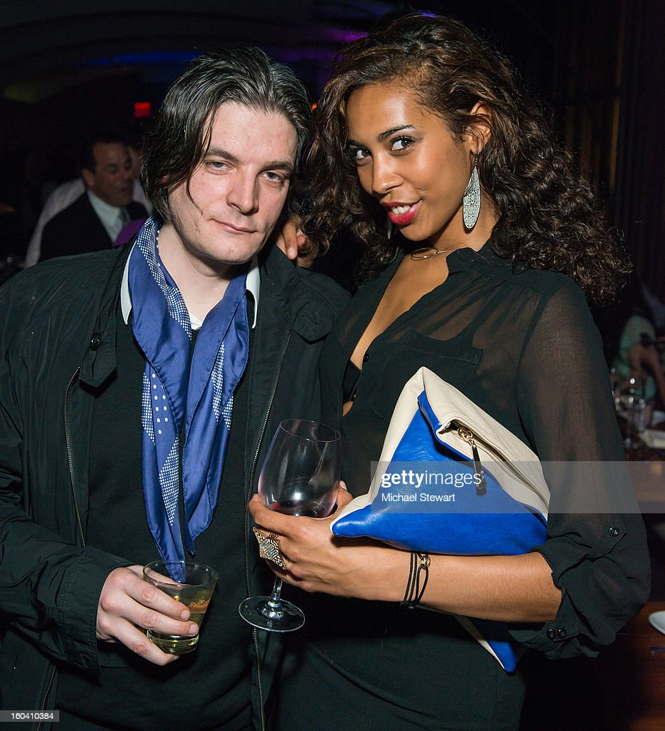 Guests attends STK Midtown 1-Year Anniversary dinner party on January 30, 2013 in New York City.