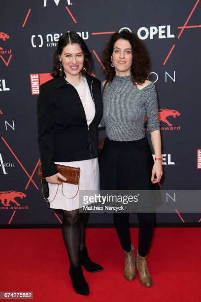 Guests attends the New Faces Award Film at Haus Ungarn on April 27 2017 in Berlin Germany