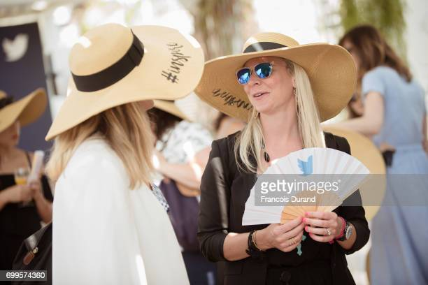 Guests attends the ' #SheInspiresMe Twitter celebrates female voices visionaries ' Event at Cannes Lions on June 21 2017 in Cannes France