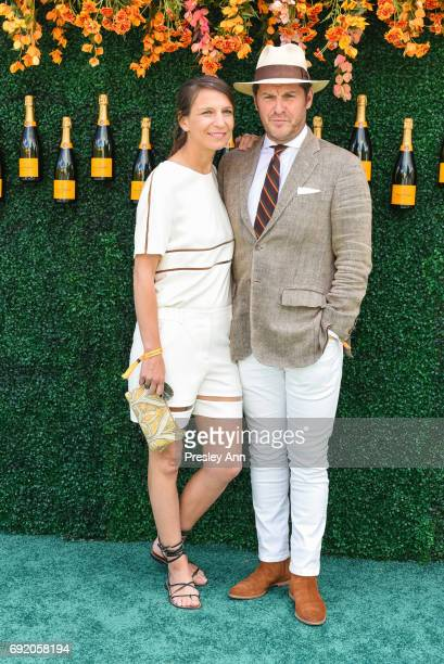 Guests attends The Tenth Annual Veuve Clicquot Polo Classic Arrivals at Liberty State Park on June 3 2017 in Jersey City New Jersey