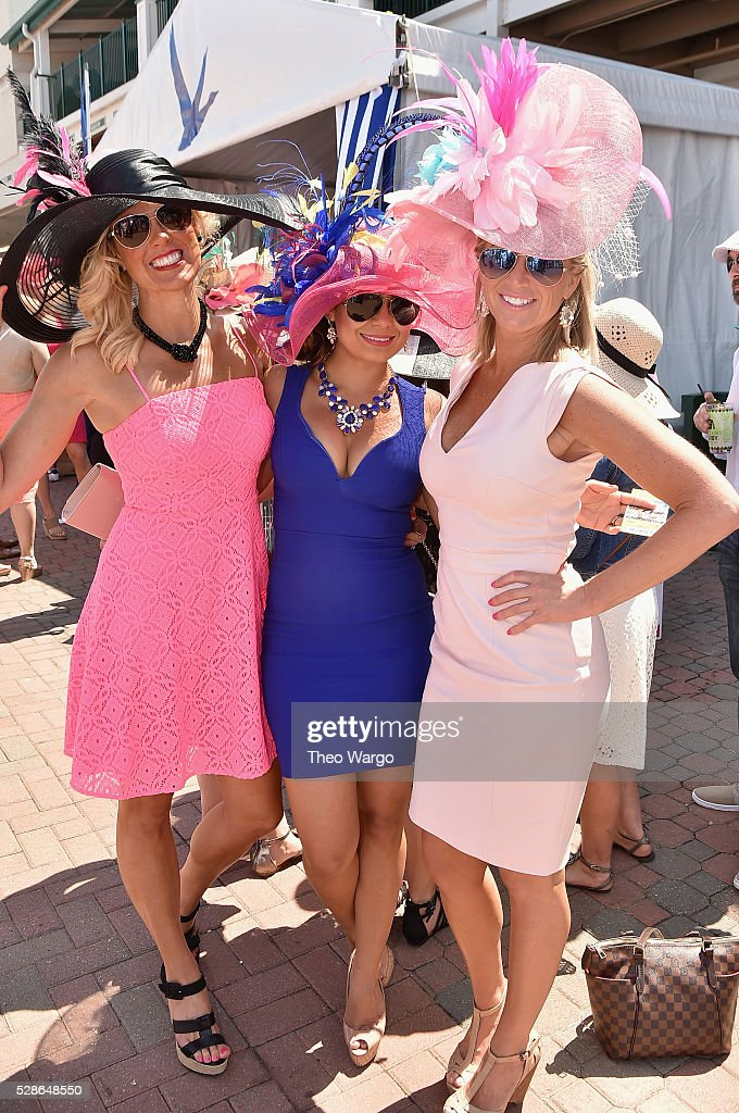 Guests celebrate the 142nd running of the Kentucky Oaks with GREY GOOSE on May 6, 2016 in Louisville, Kentucky.