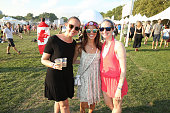 Guests enjoy day one of The Panorama Music Festival at Randall's Island on July 22 2016 in New York City