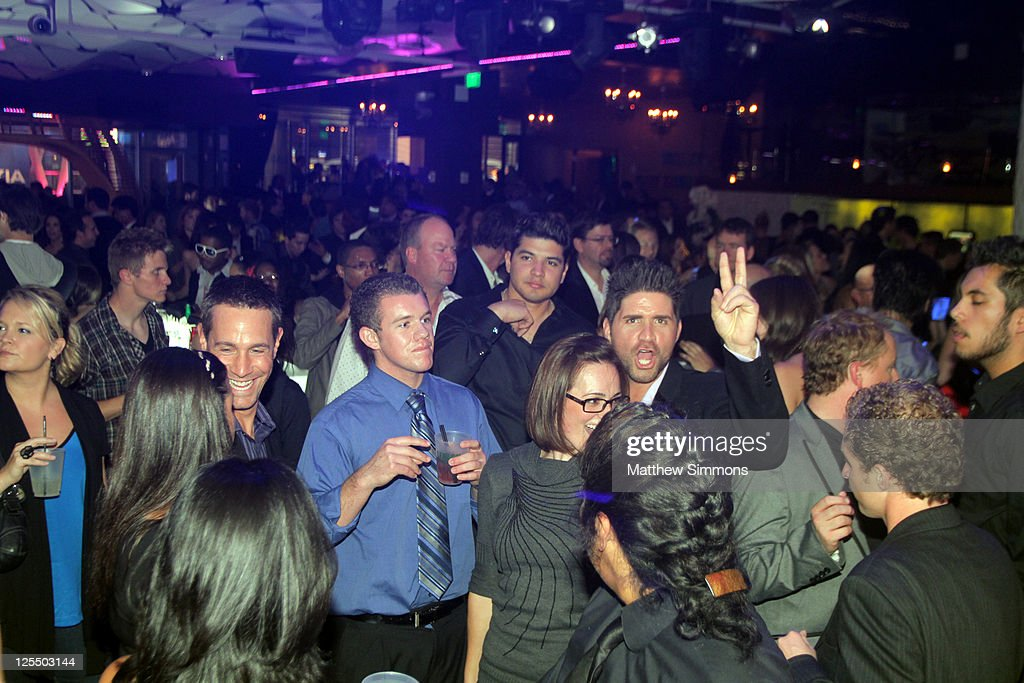 Guests Enjoy Leblon At The American Music Awards After Party At The Conga  Room At L.A.