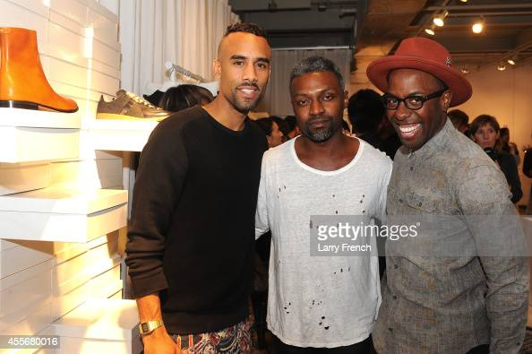 Guests enjoy the Maison Martin Margiela Relish 'Tabi Shoe Maker' Exhibition at Relish on September 18 2014 in Washington DC