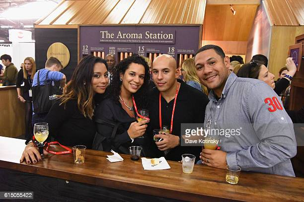 Guests enjoy the the Glenlivet Dram Room booth during the Grand Tasting presented by ShopRite featuring Samsung culinary demonstrations presented by...