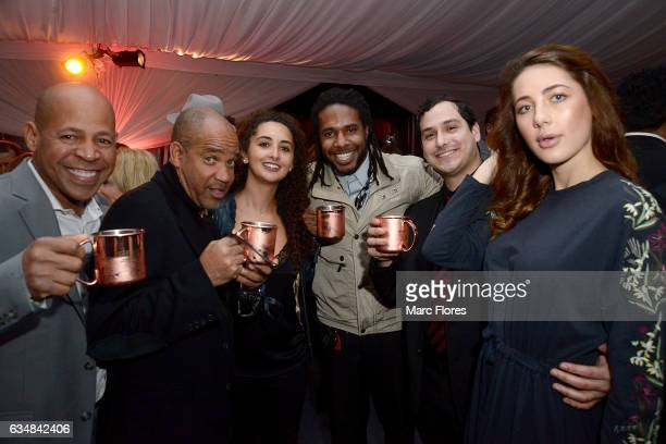 Guests enjoyed a SMIRNOFF Moscow Mule at the 11th Annual Primary Wave PreGrammys event at The London Hotel on February 11 2017 in West Hollywood...