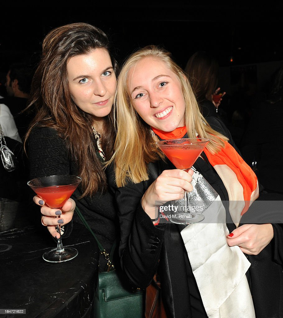 Guests enjoying CIROC Red Berry at the launch of MAGAZINE by CIROC, a curation of the leading nightlife trends from across the globe at at ME Hotel on October 15, 2013 in London, England.