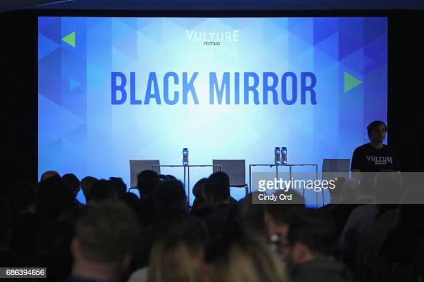 Guests fill the audience for the Black Mirror panel during the 2017 Vulture Festival at Milk Studios on May 21 2017 in New York City