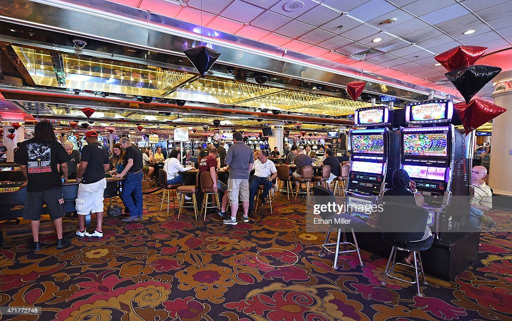 Guests Gamble On The Casino Floor At The Riviera Hotel Casino On April 30  2015 In