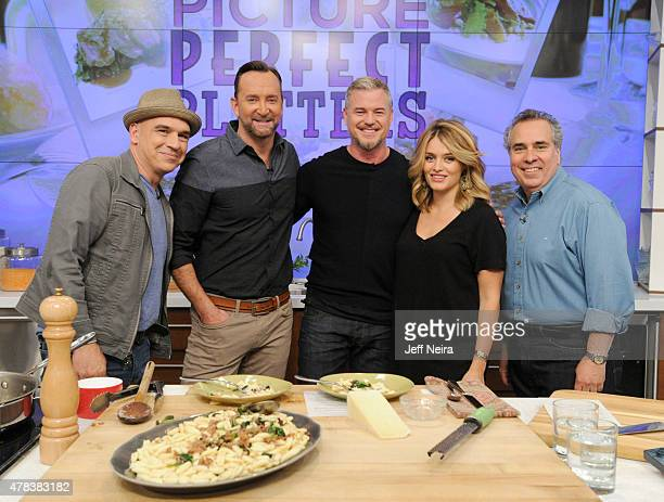 THE CHEW Guests include actor Eric Dane and Joanna Garcia Swisher Wednesday June 17 2015 on ABC's 'The Chew' 'The Chew' airs MONDAY FRIDAY on the ABC...