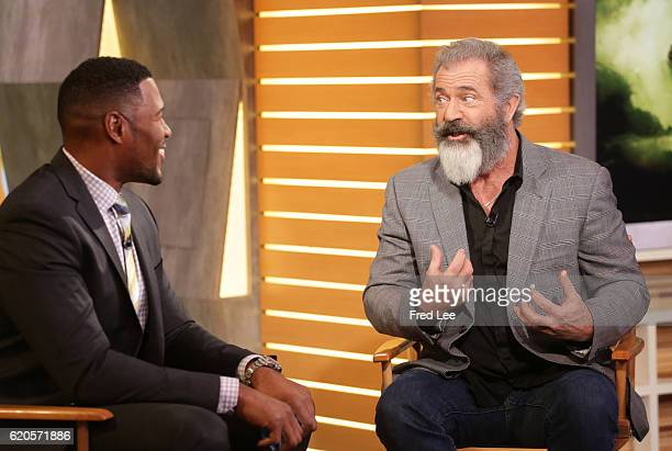 AMERICA Guests include actor/producer Mel Gibson 'Doctor Strange' Benedict Cumberbatch sportscaster Curt Menefee and Ryan Lochte and Cheryl Burke who...