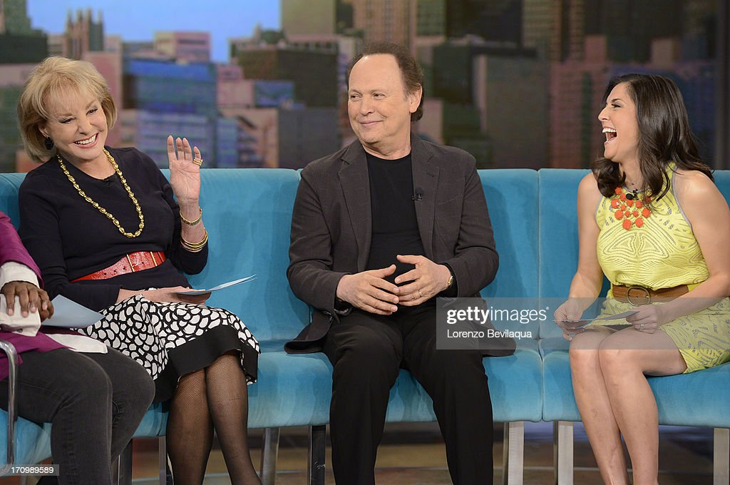 THE VIEW - (6.20.13) Guests include Billy Crystal, Amy Grant and Gildart Jackson (ABC's 'Whodunnit ?') on today's episode of 'The View.' 'The View' airs Monday-Friday (11:00 am-12:00 pm, ET) on the ABC Television Network. DUFFY